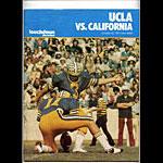 1977 Cal vs UCLA College Football Program