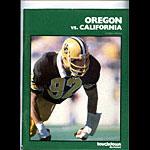 1979 Cal vs Oregon College Football Program
