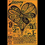Creedence Clearwater Revival, Vanilla Fudge  Handbill