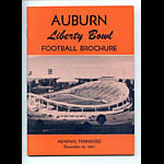 1965 Auburn Liberty Bowl Media Guide