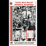 1966 Georgia Cotton Bowl Media Guide