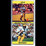 1983 UCLA vs Michigan Rose Bowl Media Guide
