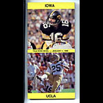 1986 Iowa vs UCLA Rose Bowl Media Guide