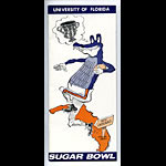 1966 Florida Sugar Bowl Football Media Guide