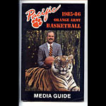 1985-86 Pacfic Media Guide
