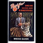 1985-86 Pacfic Football Media Guide