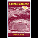 1958 Boston College Football Media Guide