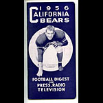 1956 Cal Bears Football Media Guide