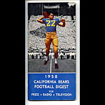 1958 Cal Bears Football Media Guide
