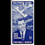 1960 Cal Bears Football Media Guide