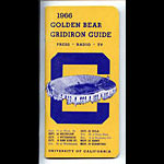 1966 Cal Bears Football Media Guide