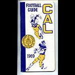 1969 Cal Bears Football Media Guide