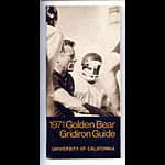 1971 Cal Bears Football Media Guide