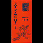 1961 Syracuse Football Media Guide