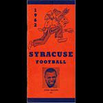 1962 Syracuse Orange Football Media Guide