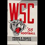 1956 Washington State College Football Media Guide