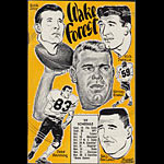 1959 Wake Forest Football Media Guide