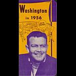 1956 University of Washington Huskies Football Media Guide