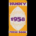 1958 University of Washington Huskies Football Media Guide