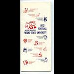 1972 Fresno Football Media Guide