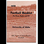 1958 Idaho Football Media Guide