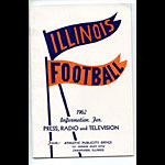 1962 Illinois Football Media Guide
