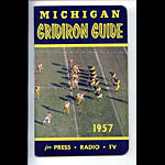 1957 Michigan Football Media Guide