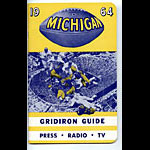 1964 Michigan Football Media Guide
