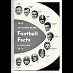 1957 Michigan State University Football Media Guide