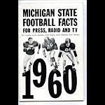 1960 Michigan State Football Media Guide