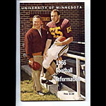1966 Minnesota Football Media Guide