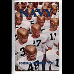 1957 Navy Football Media Guide