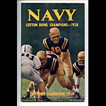 1958 Navy Football Media Guide