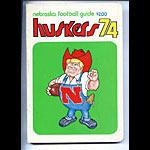 1974 Nebraska Football Media Guide
