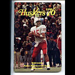 1976 Nebraska Bluebonnet Bowl Football Media Guide