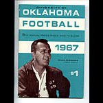 1967 Oklahoma Football Media Guide
