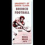 1972 Santa Clara Football Media Guide