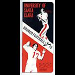 1973 University of Santa Clara Football Media Guide