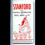 1959 Stanford University Football Media Guide