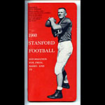 1960 Stanford Football Media Guide