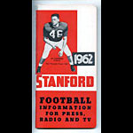 1962 Stanford University Football Media Guide
