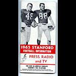 1965 Stanford University Football Media Guide