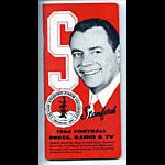 1966 Stanford University Football Media Guide