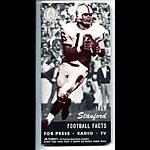 1969 Stanford University Football Media Guide