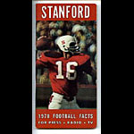 1970 Stanford Football Media Guide