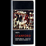 1971 Stanford Football Media Guide