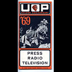 1969 UOP Football Media Guide