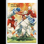 1958 Baldwin-Wallace Vs Kent State College Football Program