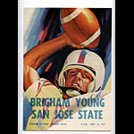 1961 BYU vs San Jose State College Football Program
