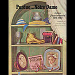 1966 Purdue vs Notre Dame College Football Program